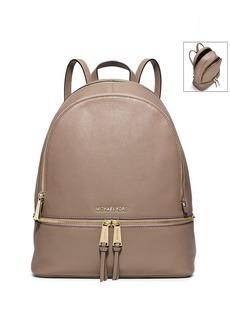 MICHAEL Michael Kors® Rhea Zip Large Leather Backpack