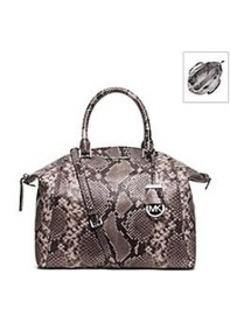 MICHAEL Michael Kors® Riley Large Embossed-Leather Satchel
