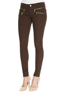 MICHAEL Michael Kors Rocker Zip-Pocket Skinny Pants