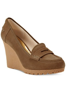 MICHAEL Michael Kors Rory Loafer Wedge Pumps