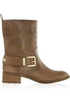 MICHAEL Michael Kors Roswell glossed-leather ankle boots