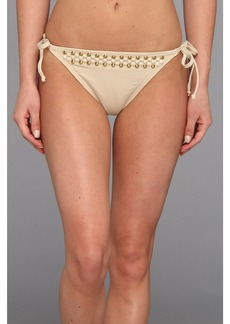MICHAEL Michael Kors Round Dome Solids Side Tie String Euro Bottom