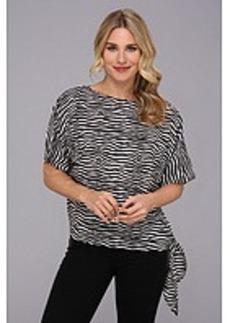 MICHAEL Michael Kors Roxy Zebra Sidetie Top