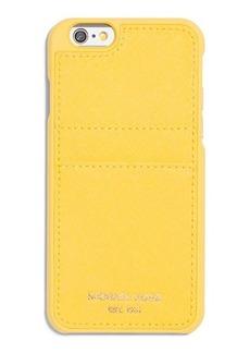 MICHAEL Michael Kors Saffiano iPhone 6 Case w/ Pocket