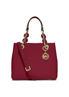 MICHAEL MICHAEL KORS Saffiano Leather Small North South Satchel