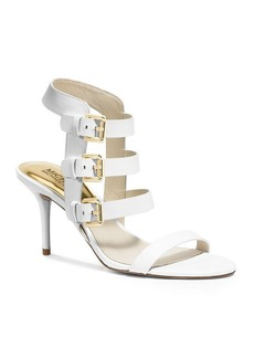 MICHAEL Michael Kors Sandals - Beverly Buckled Mid Heel