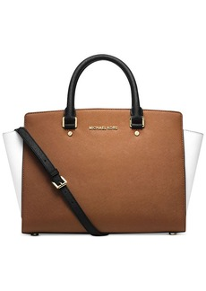 MICHAEL Michael Kors Selma Large Colorblock Satchel
