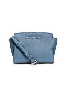 MICHAEL MICHAEL KORS Selma Leather Mini Messenger Bag