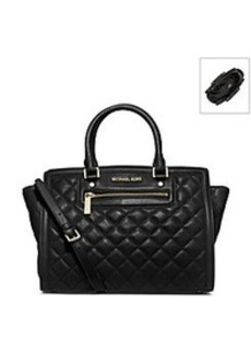 MICHAEL Michael Kors® Selma Quilted Leather Large Satchel
