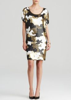 MICHAEL Michael Kors Sequin Camouflage Dress