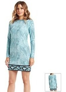 MICHAEL Michael Kors® Serpent Print Border Dress