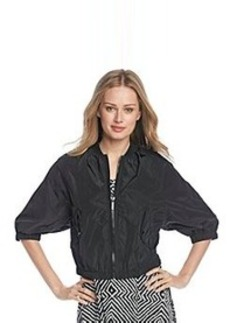 MICHAEL Michael Kors® Short Sleeve Bomber Jacket
