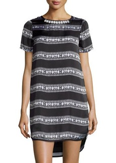 MICHAEL Michael Kors Short-Sleeve Jewel-Print T-Shirt Dress