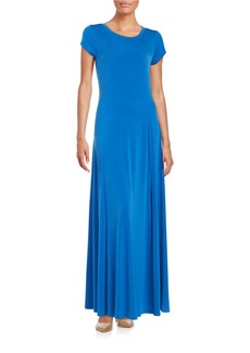 MICHAEL MICHAEL KORS Short Sleeve Maxi Dress