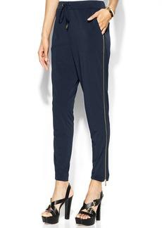 MICHAEL Michael Kors Petite Side-Zip Drawstring Pants