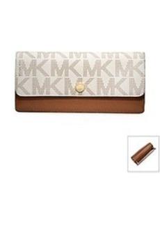 MICHAEL Michael Kors® Signature Flap Wallet