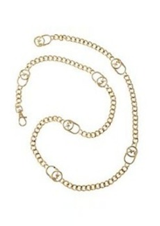 MICHAEL Michael Kors® Signature Lock Chainlink Belt