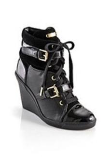"""MICHAEL Michael Kors® """"Skid"""" Wedge Sneaker - Black"""