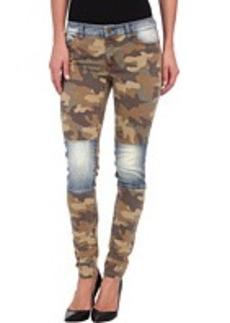 MICHAEL Michael Kors Skinny Jean w/ Camo Patch in Duffle