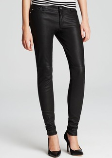 MICHAEL Michael Kors Skinny Leather Pants