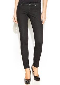 MICHAEL Michael Kors Skinny Stud-Pocket Jeans, Black Wash