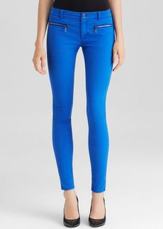 MICHAEL Michael Kors Skinny Zip Jeans in Amalfi Blue