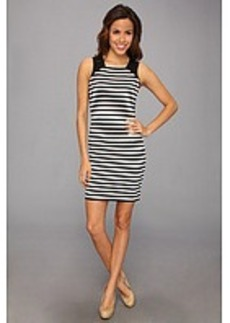 MICHAEL Michael Kors Sleeveless Fulham Stripe Color Block Dress
