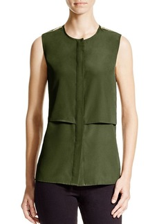 MICHAEL Michael Kors Sleeveless Tiered Top