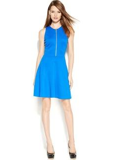 MICHAEL Michael Kors Sleeveless Zip-Front Dress