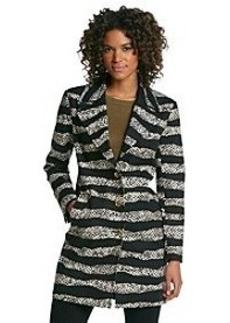 MICHAEL Michael Kors® Snake Print Overcoat