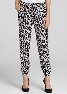 MICHAEL Michael Kors Snow Leopard Print Pants