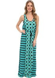 MICHAEL Michael Kors Soho Square S/L Maxi Dress