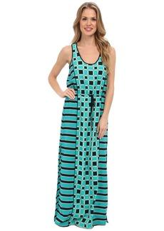 MICHAEL Michael Kors Soho Square S/L Maxi Dress