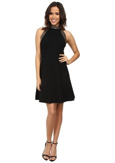 MICHAEL Michael Kors Solid Stud Ponte Dress