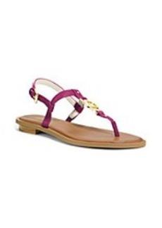 "MICHAEL Michael Kors® ""Sondra"" T-Strap Thong Sandals"
