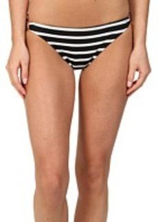 MICHAEL Michael Kors Sophia Stripe Classic Bottom w/ Hardware