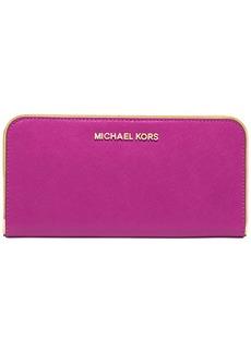 MICHAEL Michael Kors Specchio Jet Set Travel Zip Around Continental Wallet