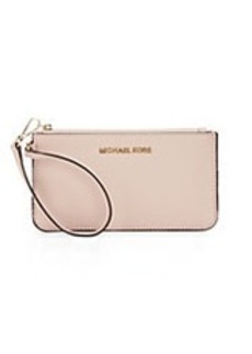 MICHAEL MICHAEL KORS Specchio Leather Wristlet