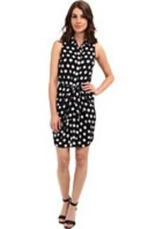 MICHAEL Michael Kors Spot S/L Knot Short Dress