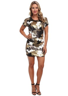 MICHAEL Michael Kors S/S Sequin Camo Dress