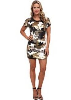 MICHAEL Michael Kors S/S Sequin Camo Dress