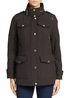MICHAEL MICHAEL KORS Stand Collar Structured Coat