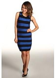 MICHAEL Michael Kors Stripe Bandage Sleeveless Sweater Dress