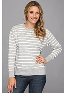 MICHAEL Michael Kors Stripe Dropped Shoulder French Terry Sweatshirt