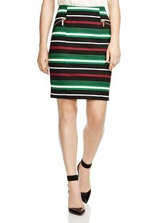 MICHAEL Michael Kors Stripe Pencil Skirt