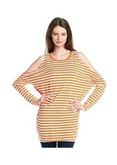 MICHAEL Michael Kors® Striped Cold Shoulder Top