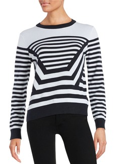 MICHAEL MICHAEL KORS Striped Knit Sweater