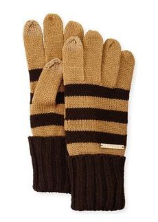 MICHAEL Michael Kors Striped Tech Gloves