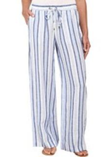 MICHAEL Michael Kors Striped Wide Leg Pants