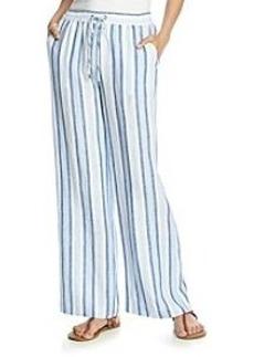 MICHAEL Michael Kors® Striped Wideleg Pant
